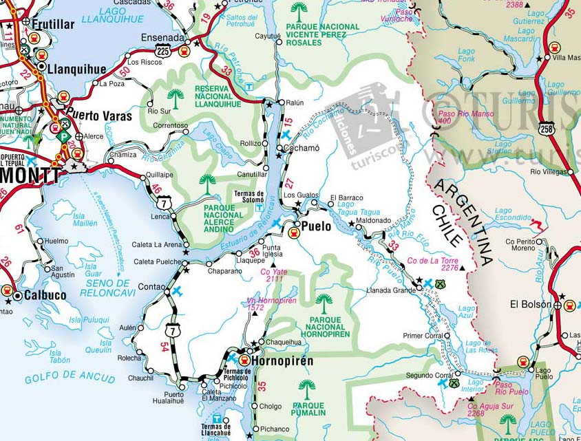 ... Trail up to Paso de Leon is indicated more clearly on the maps below